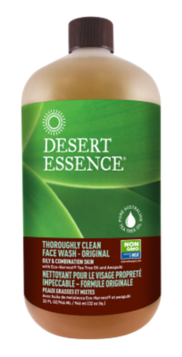 Picture of Desert Essence Desert Essence Thoroughly Clean Face Wash, Refill 960ml