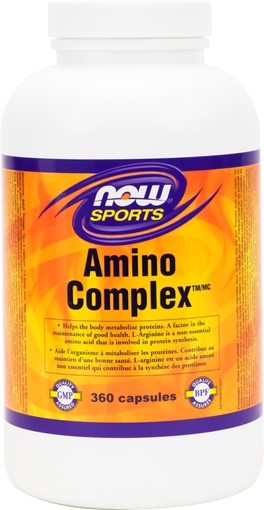 Picture of NOW Foods NOW Foods  Amino Complex, 360 Capsules