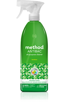 Picture of  Method Antibacterial All-Purpose Cleaner, Bamboo 828ml
