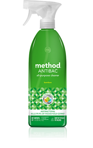 Picture of Method Home Method Antibacterial All-Purpose Cleaner, Bamboo 828ml