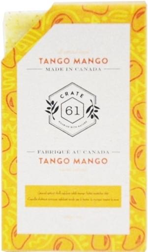 Picture of Crate 61 Organics Crate 61 Organics Bar Soap, Tango Mango 110g