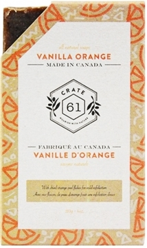 Picture of Crate 61 Organics Crate 61 Organics Bar Soap, Vanilla Orange 110g