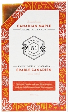 Picture of Crate 61 Organics Crate 61 Organics Bar Soap, Canadian Maple 110g