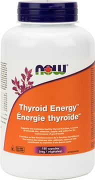 Picture of NOW Foods Thyroid Energy, 180 Capsules