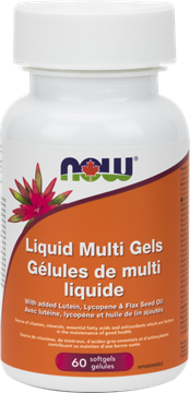 Picture of  Liquid Multivitamin & Mineral Gels, 60 Softgels