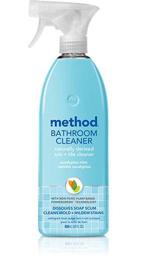 Picture of Method Home Method Tub & Tile Cleaner, Eucalyptus Mint 828ml