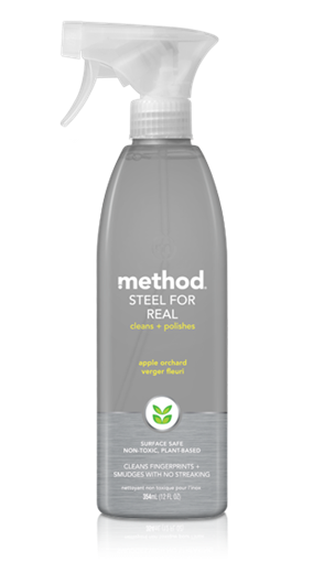 Picture of Method Home Method Stainless Steal Polish, Apple Orchard 354ml