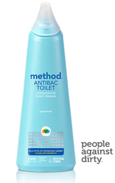 Picture of  Method Anitbacterial Toilet Cleaner, Spearmint 709ml
