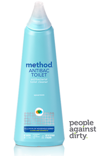 Picture of Method Home Method Anitbacterial Toilet Cleaner, Spearmint 709ml