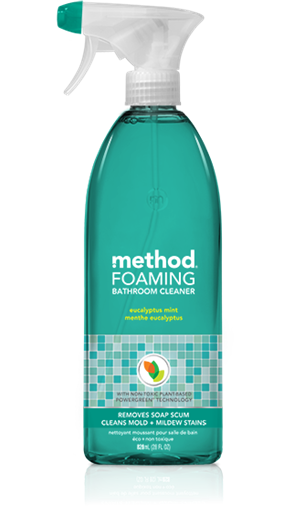 Picture of Method Home Method Foaming Bathroom Cleaner, Eucalyptus Mint 828ml
