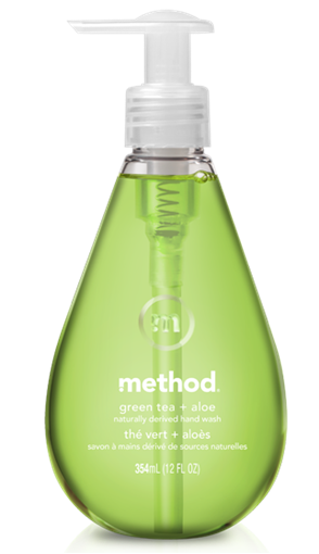 Picture of Method Home Method Gel Hand Wash, Green Tea & Aloe 354ml
