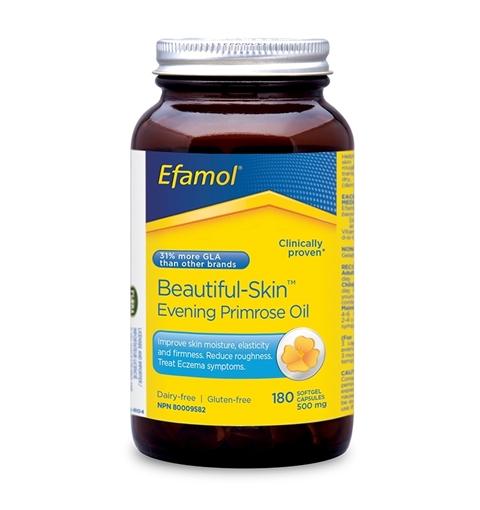 Picture of Efamol Efamol Beautiful Skin Evening Primrose Oil 500mg, 180 Capsules