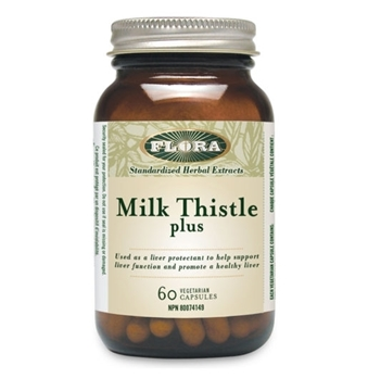 Picture of Flora Milk Thistle Plus, 60 Capsules