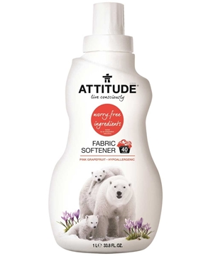 Picture of  ATTITUDE Fabric Softener, Pink Grapefruit 1L