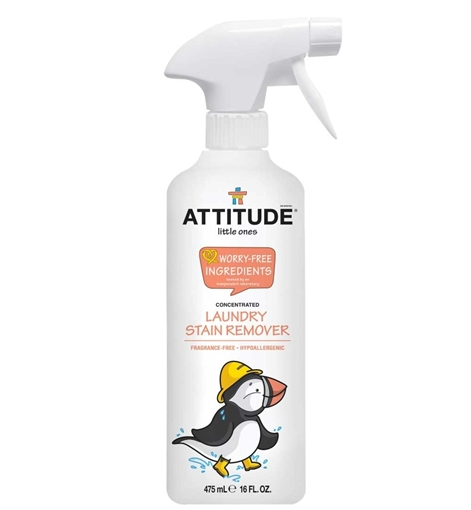 Picture of Attitude ATTITUDE Little Ones Laundry Stain Remover, Fragrance Free 475ml
