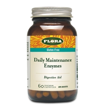 Picture of  Flora Daily Maintenance Enzymes, 60 Capsules