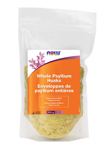 Picture of NOW Foods Psyllium Husks Whole, 454g