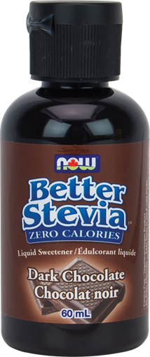 Picture of NOW Foods NOW Foods BetterStevia, Dark Chocolate 60mL