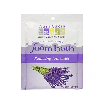 Picture of  Aura Cacia Lavender Foam Bath, 70.9g
