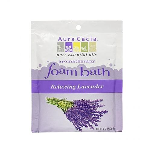 Picture of Aura Cacia Aura Cacia Lavender Foam Bath, 70.9g