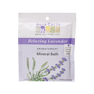 Picture of  Aura Cacia Lavender Harvest Mineral Bath, 71g