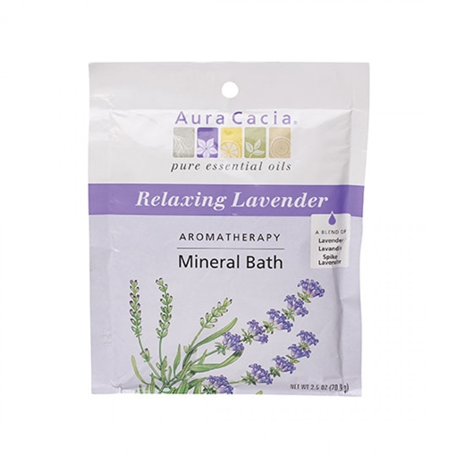 Picture of Aura Cacia Aura Cacia Lavender Harvest Mineral Bath, 71g