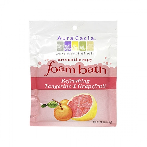 Picture of Aura Cacia Aura Cacia Foam Bath, Tangerine & Grapefruit 70.9g