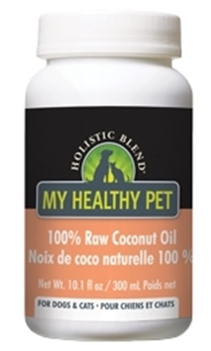 Picture of Holistic Blend My Healthy Pet Holistic Blend 100% Raw Coconut Oil, 300ml