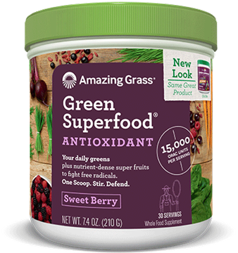 Picture of  Green SuperFood Sweet Berry,  210g