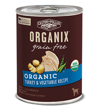 Picture of  Castor & Pollux Grain Free Turkey & Vegetable, 360g