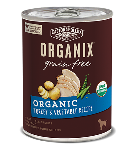 Picture of Castor & Pollux Castor & Pollux Grain Free Turkey & Vegetable, 360g