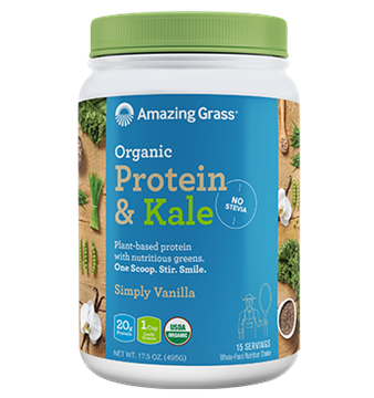 Picture of  Protein & Kale, Simply Vanilla 495g