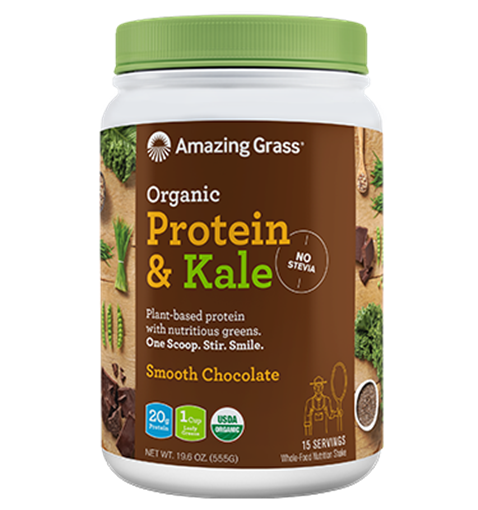 Picture of Amazing Grass Protein & Kale Smooth Chocolate, 555g