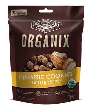 Picture of  Castor & Pollux Organic Dog Cookies, Chicken 340g