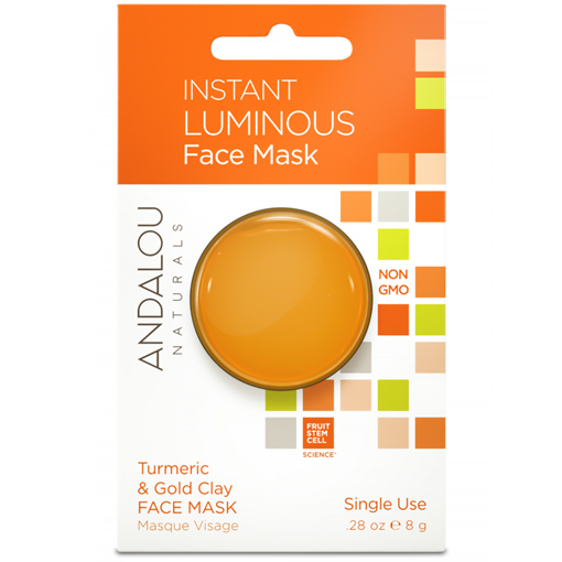 Picture of Andalou Naturals Andalou Naturals Instant Luminous Clay Mask, 8g
