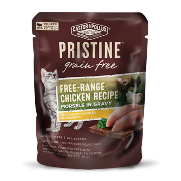 Picture of  Castor & Pollux Grain Free Free-Range Chicken Pouch, 85g
