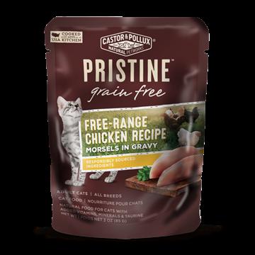 Picture of  Castor & Pollux Grain Free Free-Range Chicken Pouch, 85g