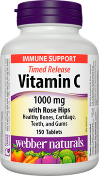 Picture of Webber Naturals Vitamin C Time Release 1000mg, 150 Tablets