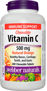 Picture of Webber Naturals Vitamin C Chewable 500mg, 300 Tablets