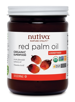 Picture of Nutiva Nutiva Organic Red Palm Oil, 444ml