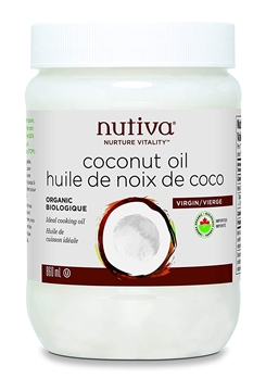 Picture of  Nutiva Organic Virgin Coconut Oil, 860ml