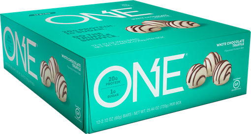 Picture of ONE Bars Protein Bar, White Chocolate Truffle 12x60g