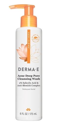 Picture of DERMA E Derma E Acne Deep Pore Cleansing Wash, 175ml