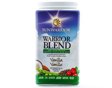 Picture of  SunWarrior Warrior Blend Protein, Vanilla 375g