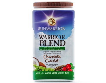 Picture of  SunWarrior Warrior Blend Protein, Chocolate 750g
