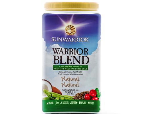 Picture of Sun Warrior SunWarrior Warrior Blend Protein, Natural 750g