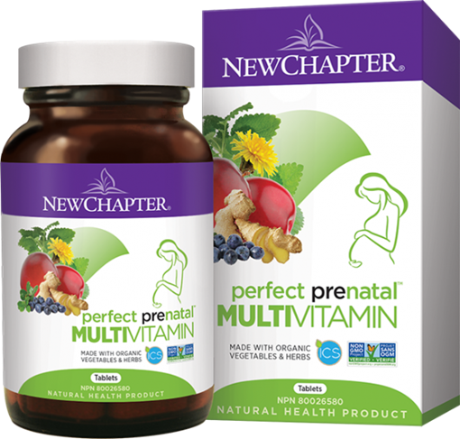 Picture of New Chapter New Chapter Perfect Prenatal, 48 Tablets