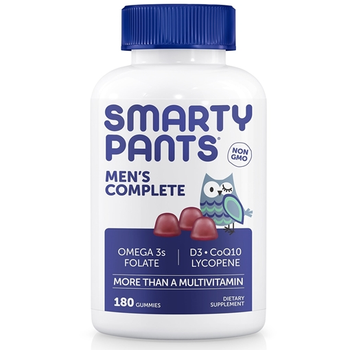 Picture of SmartyPants SmartyPants Men's Complete, 180 Gummies