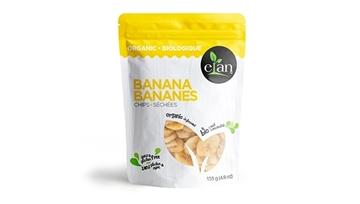 Picture of  Elan Organic Banana Chips, 135g