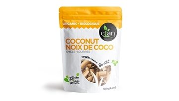 Picture of  Elan Organic Coconut Smiles, 125g